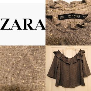 ZARA Off Shoulder Top